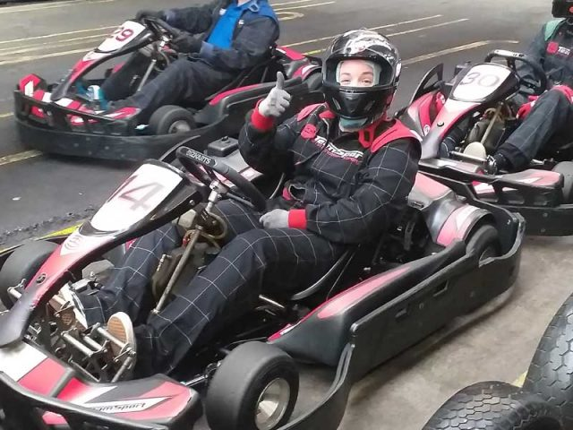 Stax Karting Day raises £3,000